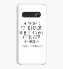 The Problem is not the Problem - Jack Sparrow Case/Skin for Samsung Galaxy