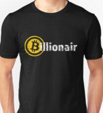 Bitcoin Billionaire - white Unisex T-Shirt