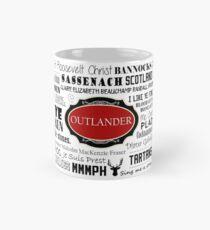 Outlander Becher (rot) Tasse (Standard)