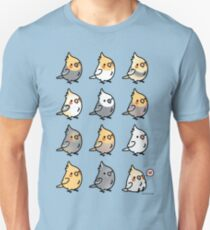 Chubby Cockatiels Unisex T-Shirt