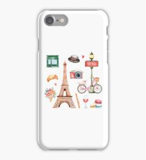 Welcome To Paris iPhone Case/Skin