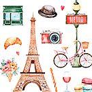 Willkommen in Paris von BekkaCampbell