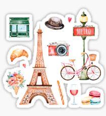 Welcome To Paris Sticker
