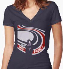 Elliott Smith Figure 8 Bigger Women's Fitted V-Neck T-Shirt