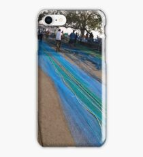 blue fishing net (Sasoon duck, mumbai)  iPhone Case/Skin