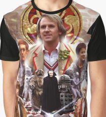 The Five Doctors Graphic T-Shirt