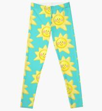 Cartoon Sunshine Leggings