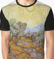 Vincent van Gogh - Olive Trees (1889) Graphic T-Shirt