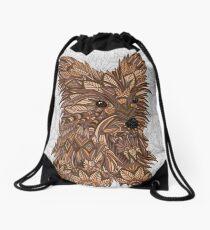 Cute Yorkie Drawstring Bag