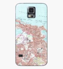 Vintage Map of San Juan Puerto Rico (1969) Case/Skin for Samsung Galaxy