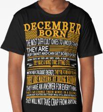 DECEMBER BORN Long T-Shirt