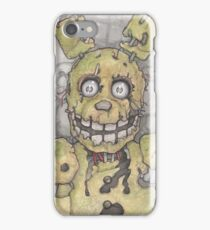 Spring Trap Five Nights at Freddy's Chris Oz Fulton iPhone Case/Skin