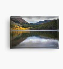Rain on Mirror Lake Canvas Print