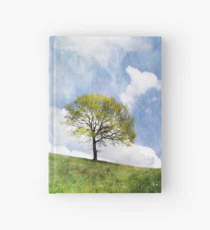 Tree in Spring Hardcover Journal