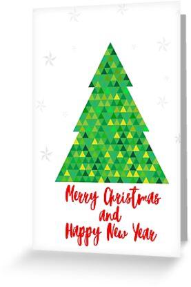 Geometric Christmas Tree by MyArt23