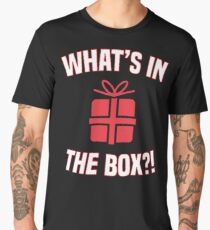 What's In the Box?! Men's Premium T-Shirt