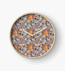 I love fall - collection Clock