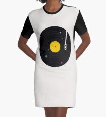 Musik überall T-Shirt Kleid