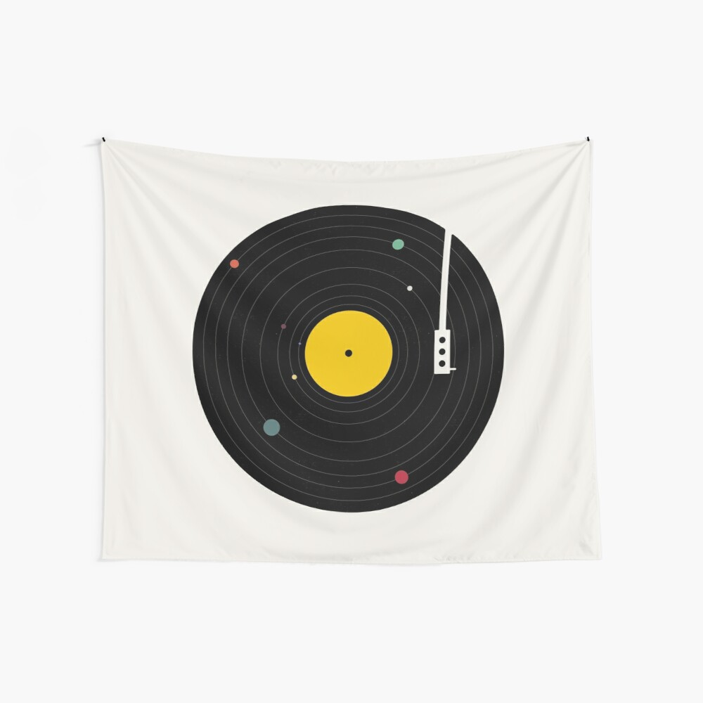 Music Everywhere Wall Tapestry