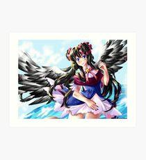 RavenMomoka  Art Print
