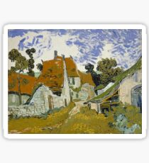 Vincent van Gogh - Street in Auvers-sur-Oise (1890)	 Sticker