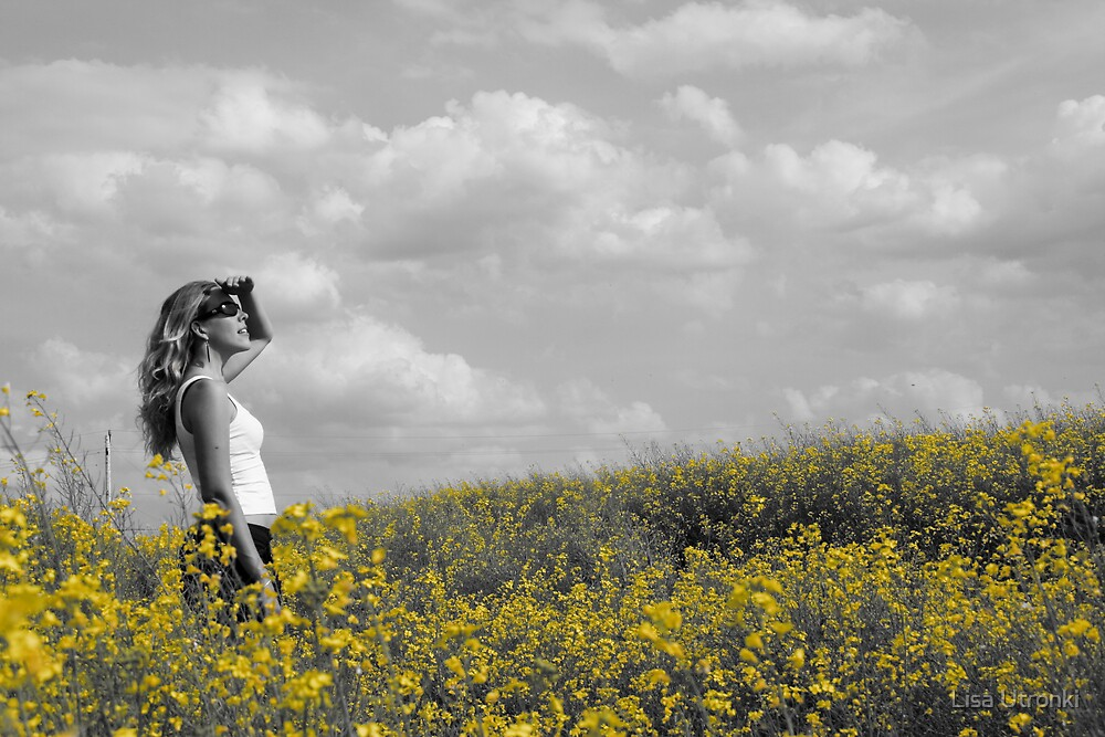 yellow yonder by Lisa Utronki