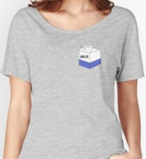 """""""MILK"""" [high quality] Women's Relaxed Fit T-Shirt"""