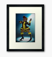 On a High Note Framed Print