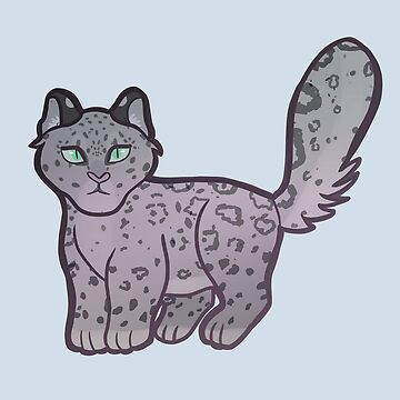 Snow Leopard by adorkablyfeline