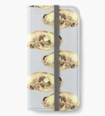 Raccoon Skulls  iPhone Wallet