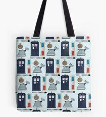 10th Pattern Tote Bag