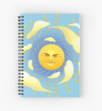Summer Rays Spiral Notebook