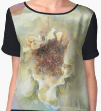 Coastal Rose Women's Chiffon Top