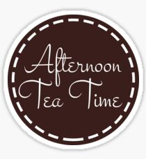Classic Afternoon Tea Time Sticker