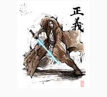 Jedi Knight from Star Wars with calligraphy Unisex T-Shirt