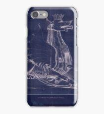 War Machine Blueprint (Roberto Valturio) iPhone Case/Skin