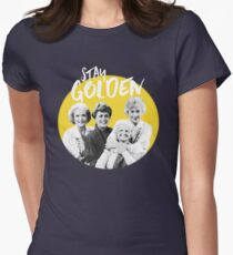 Stay Golden Women's Fitted T-Shirt