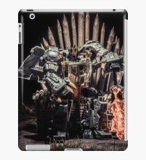 Dino King (variant 1) iPad Case/Skin