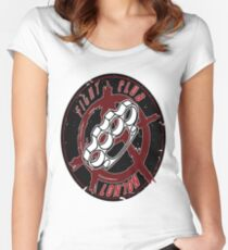 Fight Club - London (Martial arts) Women's Fitted Scoop T-Shirt