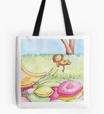 Flying Lion Tote Bag