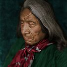 Red Cloud - Oglala American Indian by DanKeller