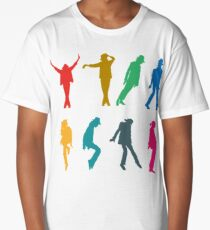 Michael Jackson #3 Long T-Shirt