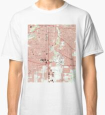 Fort Worth Texas Map (1995)  Classic T-Shirt
