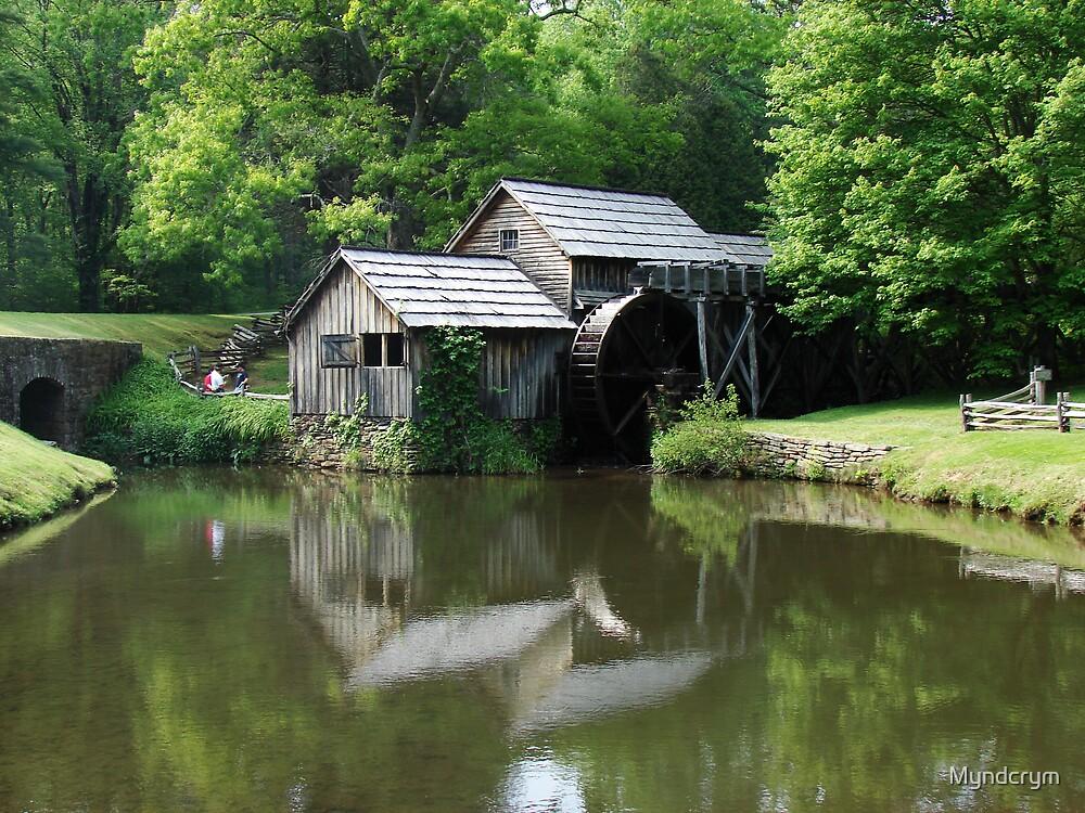 Mabry Mill by Myndcrym