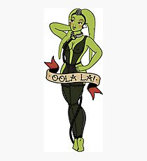 OOLA PIN-UP TATTOO FLASH Photographic Print