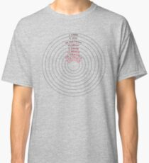 Circles of Hell - Dante's Inferno Classic T-Shirt