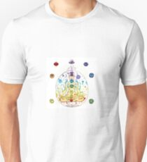 Chakras large T-Shirt