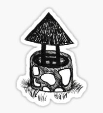 Ill-Wishing Well Sticker