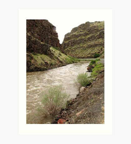 Picture Gorge Art Print