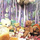 Teddy Bears Picnic and Katy Koala drops in for a bit of fun too by Virginia McGowan